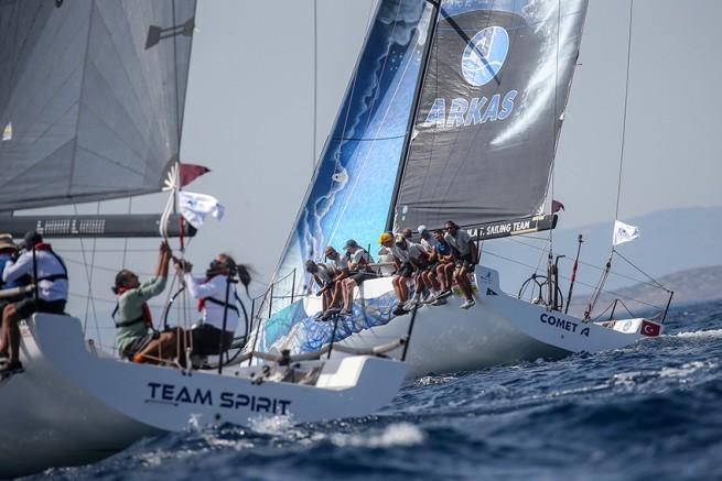 Arkas Aegean Link Regatta'nın 2021 Şampiyonu Comet A