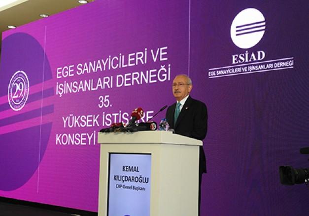 Çeşme'de ESİAD toplantısına katılan Kılıçdaroğlu,