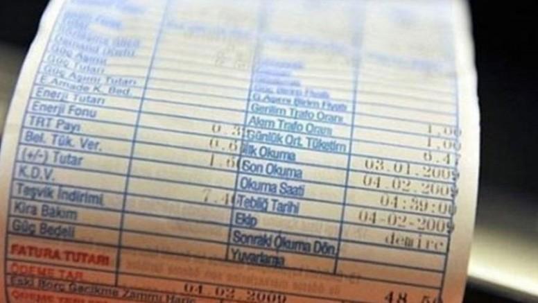 Elektrik  fatura borcuna 9 aya varan taksit imkanı