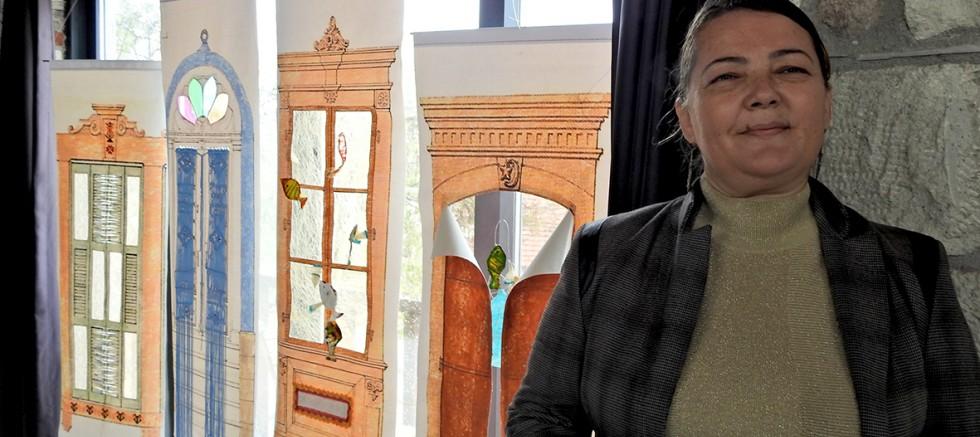 Germiyan kapı ve pencereleri sergi teması oldu