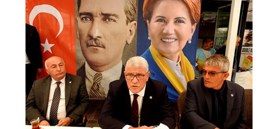 İYİ Parti Grup Başkanvekili Dervişoğlu Çeşme'yi ziyaret etti