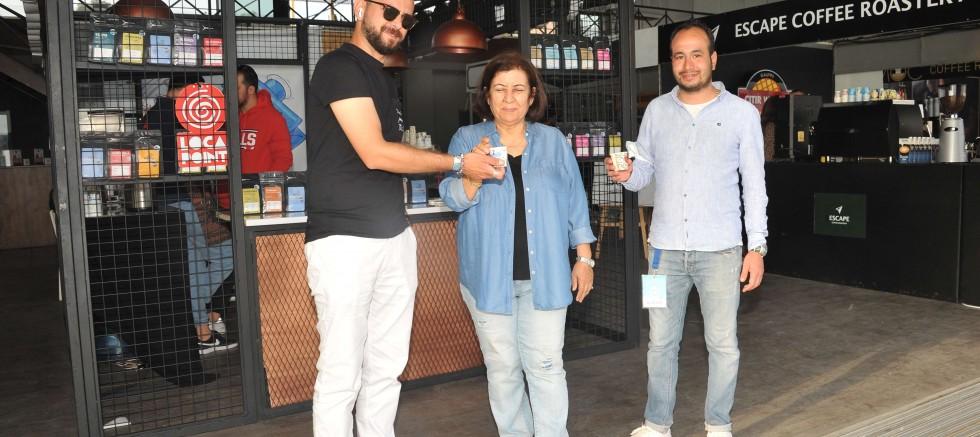 Kahvenin kalbi İzmir Arena 'da atıyor